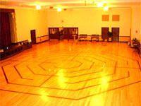 Labyrinths in MA: Location: Brookline, United Parish Church, 210 Harvard St.