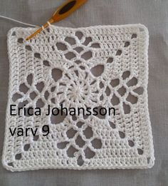 My crochet journey with the Victorian Lattice Square . Granny Square Häkelanleitung, Crochet Square Blanket, Crochet Blocks, Granny Square Crochet Pattern, Crochet Diagram, Crochet Chart, Crochet Squares, Crochet Granny, Crochet Blanket Patterns