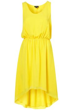 yellow dress summer I can totally see myself wearing this...after I get my arms toned up nice!