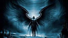 Archangel Azrael may also be referred as jamdoot who is responsible for letting the souls reach heaven after death. Archangel Azrael ensures the smooth pass Dark Angels, Angels And Demons, Fallen Angels, Hd Wallpapers For Pc, 1080p Wallpaper, Desktop Backgrounds, Desktop Wallpapers, City Wallpaper, Wallpaper Gallery
