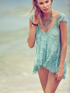 Free People Tritans Treasure Top at Free People Clothing Boutique