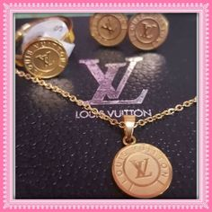 Coming Soon Fashion Jewelry Set Made of High quality Stainless Steel. Won't rust and tarnish. 14k gold plated. Please comment if you want to pre order .ETA 2-3wks. Let me know guys if you want me to reserve it for youThank you so much  Jewelry