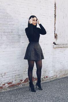 Black Stocking Photo
