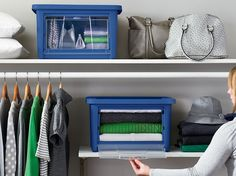 The Rubbermaid All Access organizers open from the top or the front. Perfect for closets, playrooms, laundry rooms or anywhere you need some storage. Simplify your space and see how they stack up!
