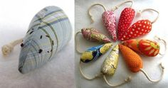 Handmade Catnip Mice   33 Totally Do-Able D.I.Y. Projects For Your Pets