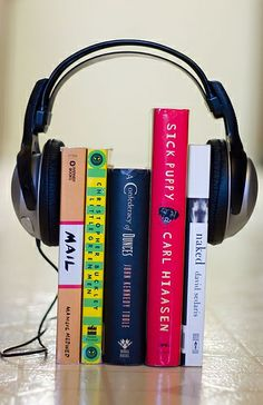 Whether embarking on a summer road trip, making the daily commute, or just doing chores around the house, the right audiobook can make the hours fly by! Not to mention, June is Audiobook Month. We've gathered together some suggestions from Carnegie-Stout's audiobook collection, including some staff favorites. (Image: Audio Book Concept by dalydose)