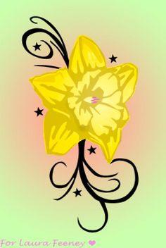 0c54d93af1fe Daffodil Tattoo by on deviantART