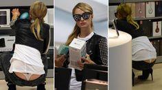 La hot rétro 2016 des accidents de robes les plus sexy : Paris Hilton et son jean taille basse piégeur,