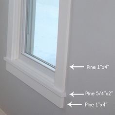 How to install craftsman style window trim teal and lime by jackie - 1000 Ideas About Craftsman Window Trim On Pinterest