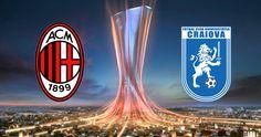 WATCH LIVE: Craiova - Milan Watch Football, Sport Football, Milan Football, Ricardo Rodriguez, Transfer Window, Soccer News, Europa League, Ac Milan, Juventus Logo