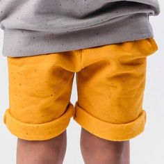 REZA pocket shorts with mango sprinkles!    #amsterdam #icecreambandits #slowfashion #sprinkledbasics #dutchdesign #minimal #kidsfashion #sustainablefashion #icecreambanditsnl