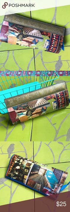 BOGO! 'Havana Nights' Clutch Handmade Up-cycled. Vintage Bags Clutches & Wristlets
