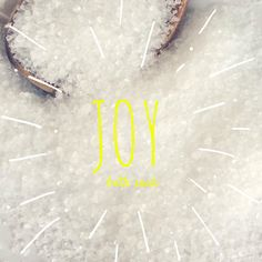 Joy Bath Soak Bath Salts by EnlightenedLotusByEC on Etsy