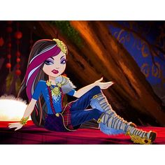 """""""Blame the Bad Wolf"""" Best Profile, Profile Photo, Ramona Badwolf, Ever After High, Bad Wolf, Blame, Monster High, Pixar, Artworks"""