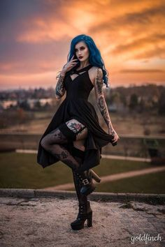 Alternative fashion from RagsnRituals. Gothic outfit, grunge outfit, outfit inspo, alternative style
