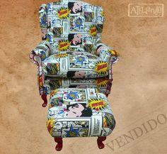 Ateliando - Customização de móveis antigos: Sofás