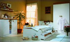 Mókus cherry teenage room / Mókus cseresznye ifjúsági szoba Decor, Furniture, Bed, Home, Home Decor