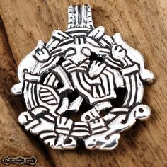 925 STERLING SILVER - THORS GRIPPING BEAST PENDANT - NEW HEAVY NORSE MYTHOLOGY #DragonSoul