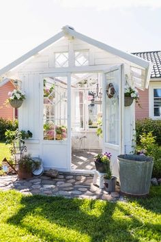 Backyard Greenhouse Shed . Backyard Greenhouse Shed . 32 Affordable Garden Shed Plans Ideas for You Shed Conversion Ideas, Home And Garden Store, Backyard Greenhouse, Greenhouse Ideas, Small Greenhouse, Portable Greenhouse, Backyard Sheds, Window Greenhouse, Homemade Greenhouse