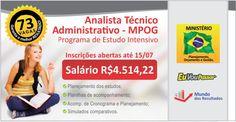 Programa de Estudo Intensivo para Analista Técnico-Administrativo do MPOG