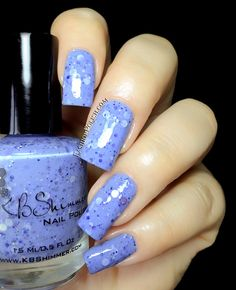 KBShimmer Summer collection review. Part 1 : the blues and greens Periwinkle in Time