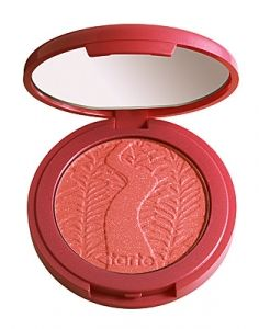 NEW! Amazonian clay 12-hour shimmering blush in frisky (shimmering bright coral) #coralcrush #tartetalk