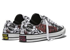 6a5228fc092d Converse x Sex Pistols Graphic Print Low Chuck Taylor All Star Shoes
