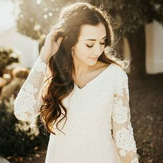 Bridal shop in Salt Lake City, Utah with Designer Wedding Dresses, Bridesmaids, Modest Bridal Gowns and In-house Alterations. We are Appointment Only: Find your Perfect Dress Here! Wedding Dresses Photos, Modest Wedding Dresses, Designer Wedding Dresses, Lds Bride, Temple Wedding, Wedding Dress Shopping, Bridal Gowns, Wedding Styles, Bridesmaid