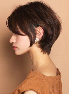 ☆小顔効果☆大人のショートボブスタイル(髪型ショートヘア)(ビューティーナビ) Cute Hairstyles For Short Hair, Short Hair Cuts, Short Hair Styles, Pretty Much It, Hair Reference, Cute Shorts, Pixie Cut, Hair Inspiration, Hair Beauty