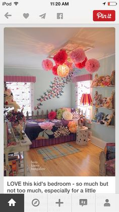 saw this on Pinterest hate it it's to wild I think the more simpler the more better when you have a wild room it look clustered so I say no in this room