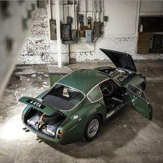 1962 Aston-Martin DB4 GT by Zagato #db4gt                                                                                                                                                      More