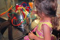 Fun with Pipe Cleaners Fine Motor Skills - Kids will have a ball while pushing and pulling pipe cleaners. Quiet Time Activities, Activities For 2 Year Olds, Motor Skills Activities, Weather Activities, Kids Learning Activities, Infant Activities, Fine Motor Skills, Preschool Ideas, Craft Activities