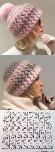 Crochet Beautiful Beanie Hat C