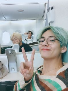 Taehyung, jimin and jhope