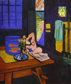 Henri Matisse, Red Fish in Interior, 1912 on ArtStack #henri-matisse #art