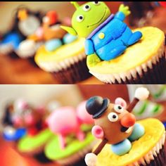 Toy Story Cupcakes!