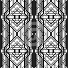 Abstract geometric pattern, by Marochkina, via Dreamstime