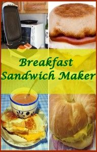 Find the best breakfast sandwich maker from among the choices displayed here and start enjoying your first meal of the day like never before.
