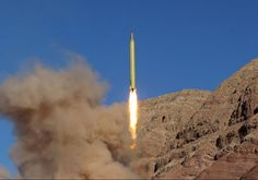 A ballistic missile is launched and tested in an undisclosed location, Iran, March 9, 2016.  Photo By: REUTERS