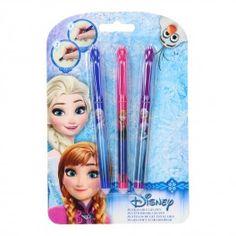 Disney Frozen Uitwisbare Gelpennen, 3st.