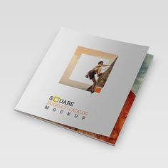 This Is An  X  Double Gate Fold Brochure Mockups ItS