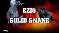 Assassin's Creed's Ezio vs Metal Gear's Solid Snake in Real Life - Ultimate Fan Fights Ep. Computer Video Games, Metal Gear Solid, Assassins Creed, Game Character, Super Powers, Real Life, Snake, Cute Animals, Fan
