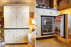 """Small Kitchen Designs Ideas """"The Complete Kitchenette"""" from Culshaw Bell is a stylish and compact piece of free standing kitchen furniture. This bespoke free standing cupboard is an inspiring solution for homes, apartments, studios, offices etc.  http://smallkitchen-designideas.blogspot.com/"""
