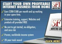 Start your own internet business Extensive traing provided Free