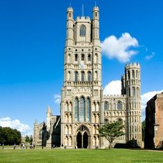 Ely Cathedral, Ely, Cambridgeshire . 1080, Gothic Architecture . Never Visited