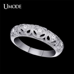 Bague Femme White Gold Plated Carve Craft Filigree Wedding Band Paved AAA CZ Engagement Rings For Women Jewelry Like if you remember Visit us Fashion Accessories, Fashion Jewelry, Women Jewelry, Beautiful Gifts, Beautiful Outfits, Trendy Fashion, Fashion Beauty, Cute Jewelry, Jewelry Shop