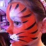 modèles maquillages félins, pumas, tigres,  1 Maquillages artistiques maquillages enfants princesses papillons animaux oiseaux clowns pirates sorcières momies monstres félins tigres jaguars pumas supers héros supporters drapeaux chats hello kitty spiderman batman