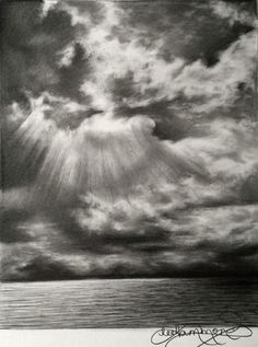 Graphite drawing tips: Lee Hammond explains how to draw skies, clouds, and sunsets with graphite.
