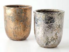 Decorative Planters and Pots Decorative Planters, Decorative Objects, Painted Clay Pots, Anthropologie Home, Bowls, Herb Pots, Vase Centerpieces, Home Decor Accessories, Flower Pots