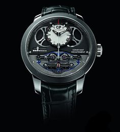 Girard-Perregaux Constant Escapement It took Girard-Perregaux quite some time to industrialize its constant escapement, but the watch in which it finally appears is very cool, indeed.